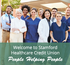 Welcome to the Stamford Healthcare Credit Union - People Helping People